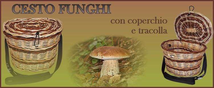 Cesto funghi